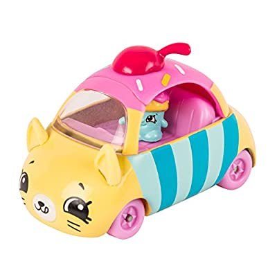 Shopkins Cutie Cars #01 Cupcake Cruiser with Mini Shopkin Exclusive: Toys & Games