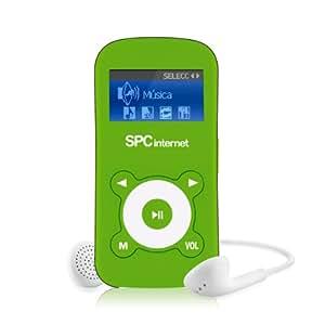 SPCinternet 8212V lector y grabador de MP3 - Reproductor MP3 (flash-media, 2 GB, TFT, MP3, WMA, 3,5 mm, USB 2.0) Azul