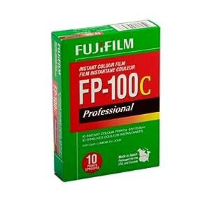 Fujifilm 2602743 FP-100C 3.25 x 4.25-Inch Professional Instant Color Film
