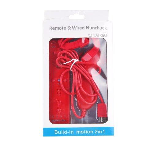 88 opinioni per CITTATREND Wired Nunchuck + Wireless Remote Controller con Motion Plus Gamepad
