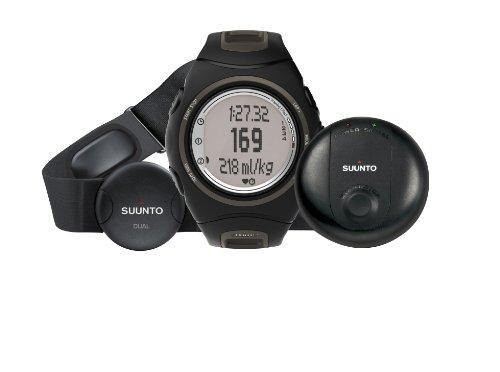 Suunto t6d GPS Pack t6d Wristop Computer (Black Smoke) by Suunto