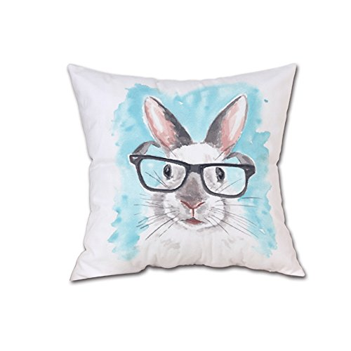HYIRI Factory Sale Fashion Simple Short Plush Cover Sofa Hug Pillowcase Home Decoration Best Easter Gift