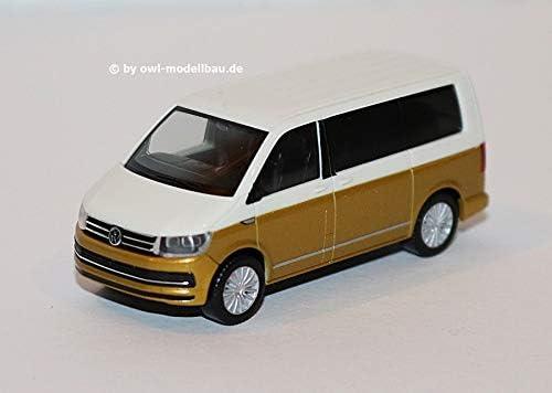 Herpa VW T6 Multivan California rot 028745