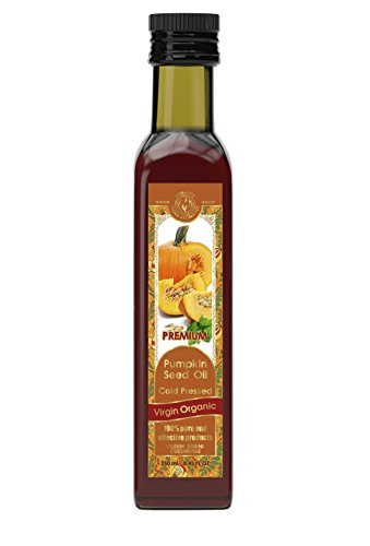 Pumpkin Oil Seed (Pumpkin Seed Oil Cold Pressed Virgin Organic 8.45 fl oz/250 ml)