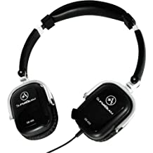 Sb-405 B (Black) Boomless on Ear Headset With Microphone Array Technology for No