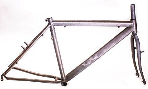 Italian RAW Steel 19'' MTB Bike Hardtail Frame 26'' Rim Brake Unpainted NEW by Italian