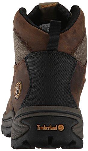 Timberland Chocorua Trail Mid GTX para mujer-zapatos para caminar (Dark-brown), Marrón, 4 Marrón