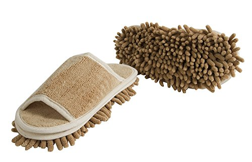 Evriholder Genie Taupe Cleaning Slippers