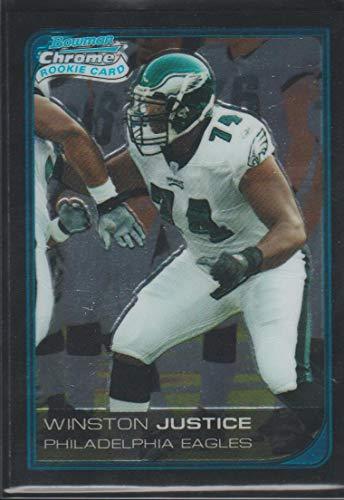 (2006 Bowman Chrome Winston Justice Eagles Rookie Football Card #3)