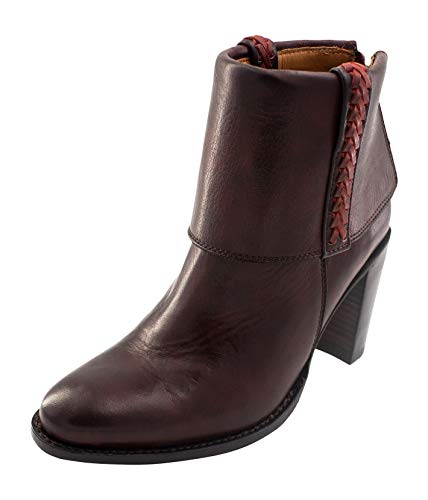 Ariat Women's Two24 Collection Suances Western Bootie, Rustic Bordeux, 9 M