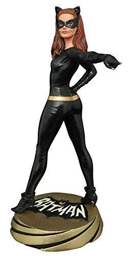 Diamond Select Toys Batman Classic 1966 TV Series Premier Collection: Catwoman Resin Statue
