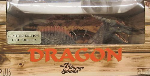 (Ray Harryhausen 7th Voyage of Sinbad DRAGON 24 Painted Soft Vinyl Action Figure (2001 X-PLUS) by Ray Harryhausen)