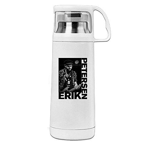 - J3G9 Stainless Steel Vacuum Insulated Travel Mug Brutal Death Erik Petersen Thermal Travel Coffee Mug White 14oz/350ml