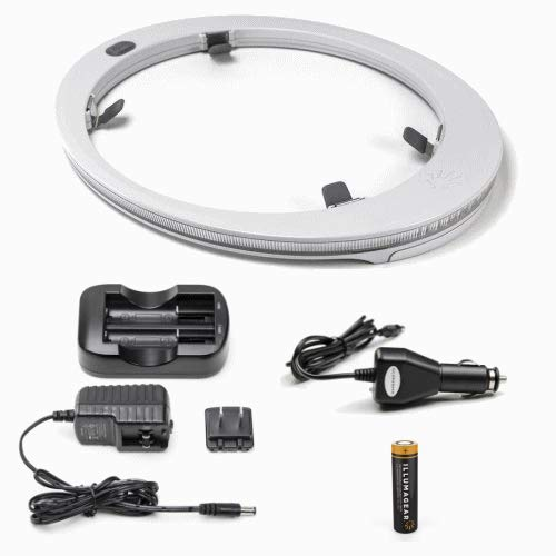 ILLUMAGEAR HALO HARD HAT LIGHT PACKAGE WITH BATTERY AND CHARGER