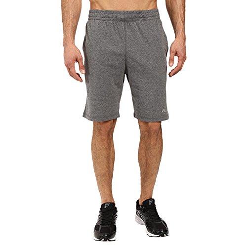 Fila Men's Basic Jersey Shorts, Varsity Heather, M ()