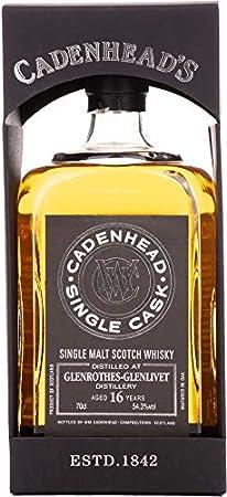 Cadenhead's Cadenhead's GLENROTHES-GLENLIVET 16 Years Old SINGLE CASK Single Malt Scotch Whisky 54,3% Vol. 0,7l in Giftbox - 700 ml