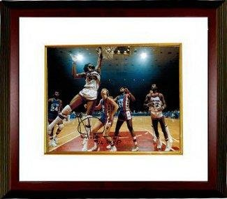 Artis Gilmore signed Kentucky Colonels 8x10 Photo Custom Framing w/ '72 MVP Insc - Autographed NBA Photos