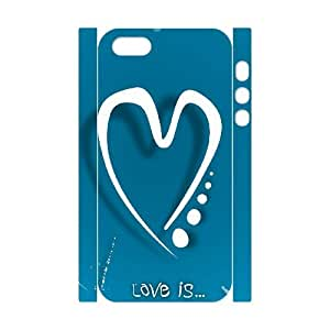 Love Brand New 3D Cover Case for Iphone 5,5S,diy case cover ygtg605295