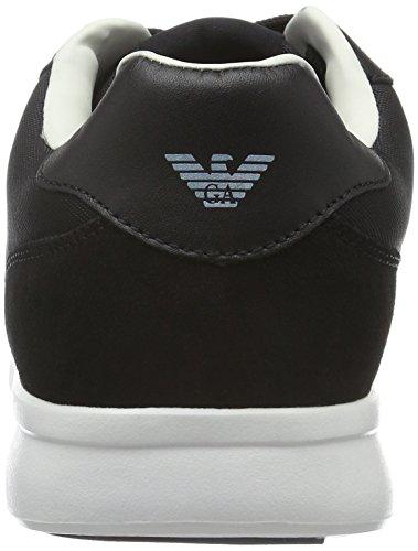 Armani Jeans Sneaker Lage Heren Sneakers Zwart