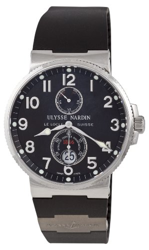 Ulysse Nardin Men's Swiss Automatic Stainless Steel and Rubber Dress Watch(Model: 263-66-3/62)