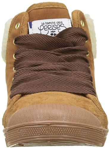 Braun Temps Mountain Sneaker Damen 03 Le Mountain Cognac Cerises Cognac des Hohe Basic a8wcqd1f