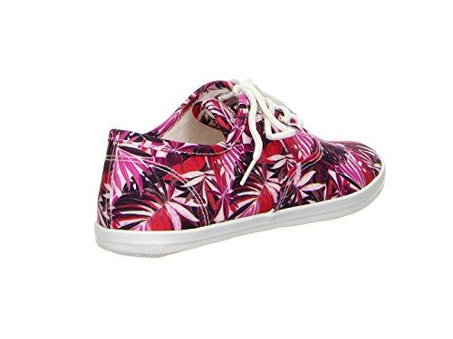 Tamaris , Chaussures de ville à lacets pour femme rouge Rot 36