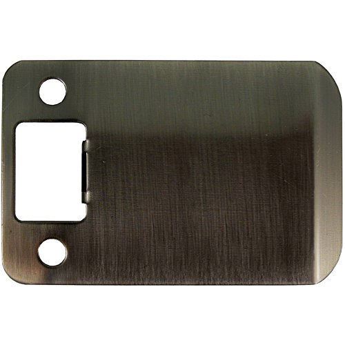 Stone Harbor Hardware 50103-5 Extended Lip Strike Plate with 3″ Lip, Antique Brass