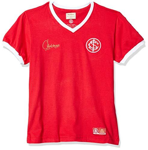 Camiseta Futebol Internacional RetrôMania Vermelho