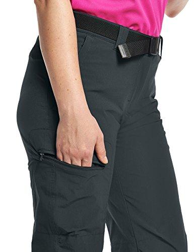 Maier Sports Lulaka - Pantalones deportivos para mujer Gris