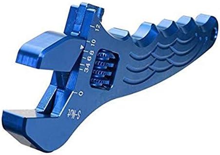 YYG-YYG プライヤーハンドツール、調節可能なアルミレンチのフィッティングツールスパナ3色 ペンチ (Color : Blue)