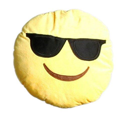Sunglasses Stuffed Emoticon Decoration Children product image
