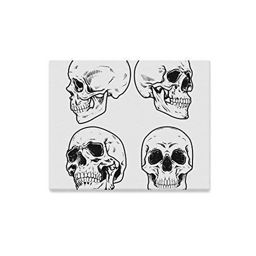 Wall Art Painting Skull Collection Prints On Canvas The Picture Landscape Pictures Oil for Home Modern Decoration Print Decor for Living Room -