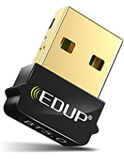 USB Bluetooth 5.0 Adapter Dongle for PC, Mini BT5.0 EDR Dongle for Computer Desktop PC Laptop Stereo Music, Skype Calls, Keyboard, Mouse, Support Windows 10 8.1 8 7