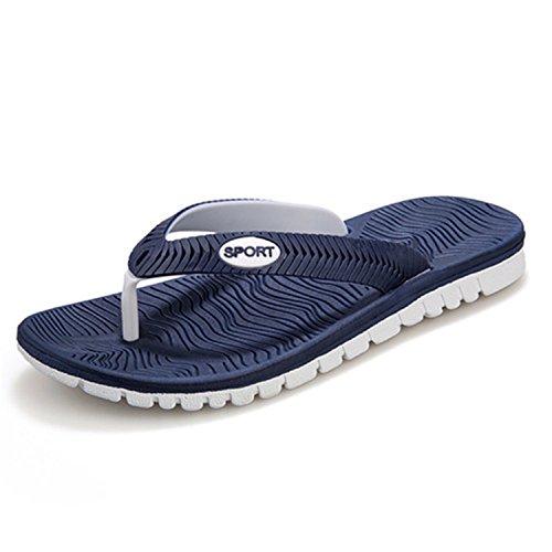 Playa Playa de Playa de de Blanco Zapatos And Zapatillas Botia Zapatillas Verano Chanclas de Hombre Azul H7qwU7