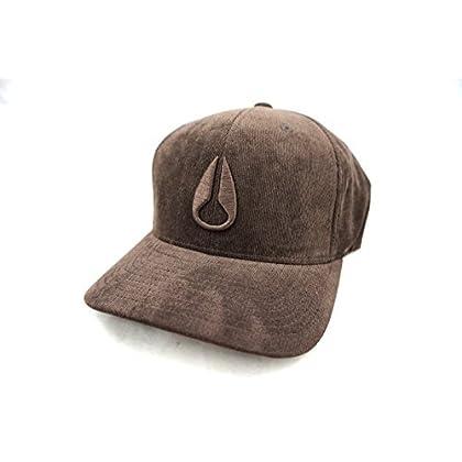quality design d8ffc f45b2 NIXON Deep Down Athletic Textured Flex Fit Hat Brown S M