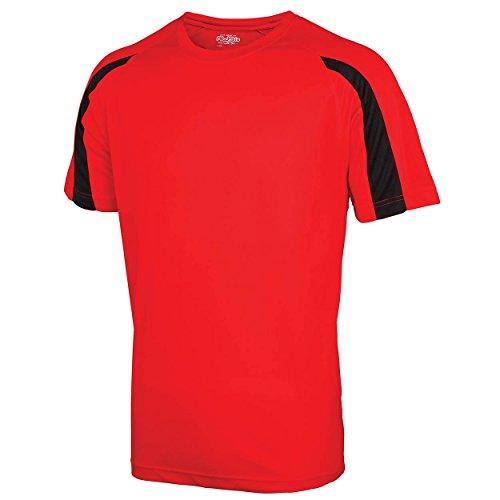 Fire Absab manga hombre Black Ltd para de Red Camiseta Jet corta qqTPHSp
