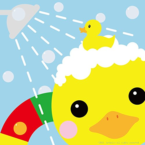 DIY Oil Painting, Paint by Numbers Kits for Kids - Yellow Duck 8