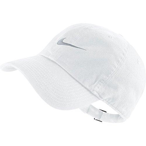 nike shox marron bleu - Nike Swoosh H86 Casquette Homme White/Wolf Grey 546126-100 ...