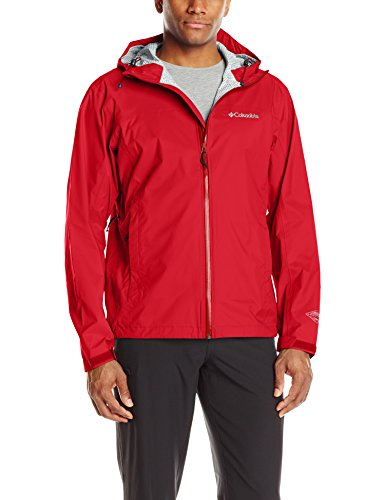 Columbia Men's evapouration jacket, Mountain Red, Small by Columbia
