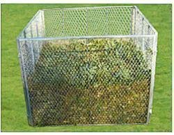 Metal compostador compostador Compost Contenedor Zinc ...