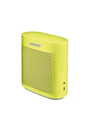 Bose SoundLink Color II: Portable Bluetooth, Wireless Speaker with Microphone- Citron