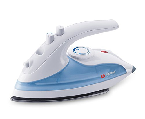 ALPINA SF-1307 Power bust Travel Steam Iron for 220/240 Volt countries