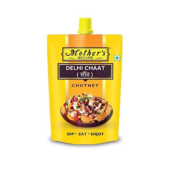 Mothers Recipe Delhi Chaat Chutney Pouch, 200 g