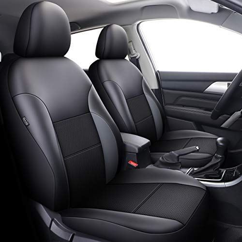 Han sui song Car Seat Cover Universal Leather Compatible Airbag Interior Car Accessories Black for Xt5 Xts Xt4 Discovery MKZ Mkx Mkc Macan