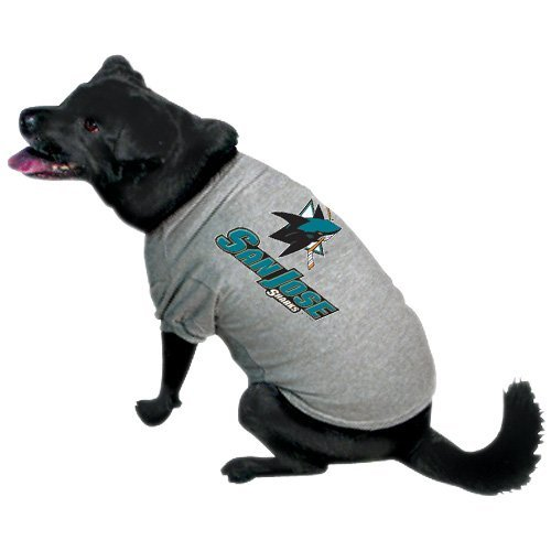 NHL San Jose Sharks Pet T-Shirt, Team Color, Small
