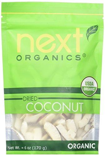 Mango Coconut Dessert (Next Organics Dried Coconut 6 Ounce (Pack of 6))