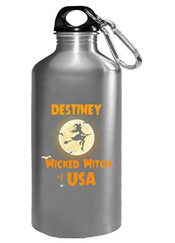 Destiney Wicked Witch Of Usa Halloween Gift - Water - Usa Destiney