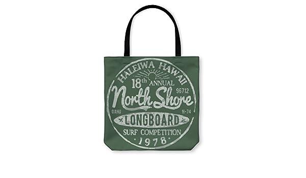 Gear New Shoulder Tote Hand Bag 5619592GN North Shore Surf Themed Vintage Design