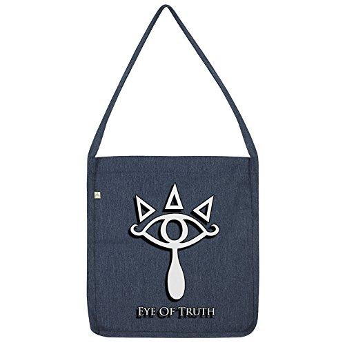 Navy Truth Eye Bag Tote Of Twisted Envy RgYwq4WB