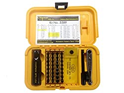 Chapman Mfg #5589 Ultimate Gunsmith Screwdriver & Ratchet Bit hand tools Set Review